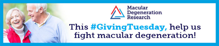 This #GivingTuesday, help us fight macular degeneration!